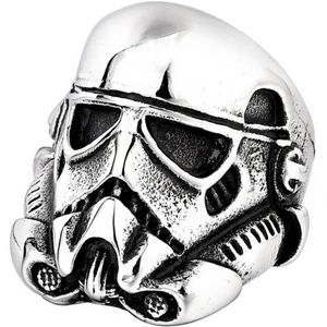 Other - Star Wars Stormtrooper Solider Helmet Silver Ring